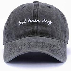 """""""Bad Hair Day"""" baseball cap hat"""